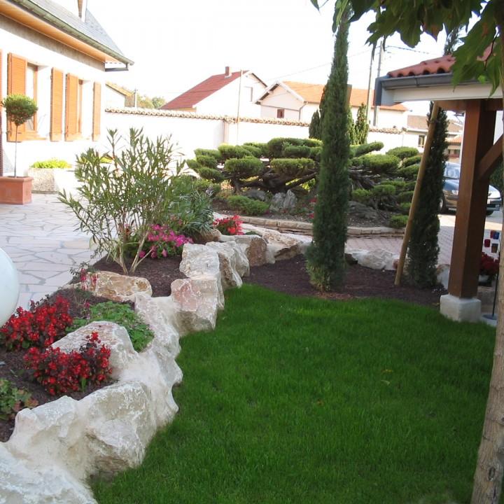 Aménagements jardins d'agrément