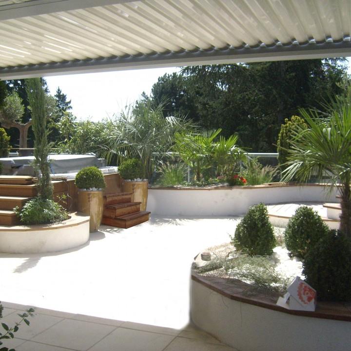 Aménagements terrasses et intérieurs