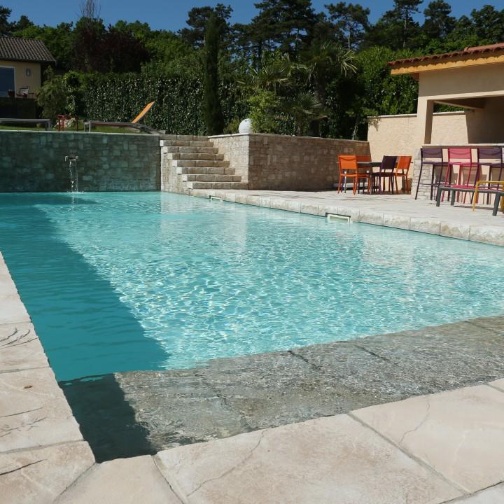 Autour de la piscine et du spa